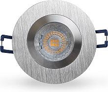 LED Einbaustrahler 230V dimmbar 5,5 2661 Warmweiß