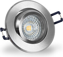 LED Einbaustrahler 230V dimmbar 5,5 5227 Warmweiß