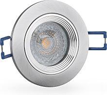 LED Einbaustrahler 230V dimmbar 5,5 6213 Warmweiß