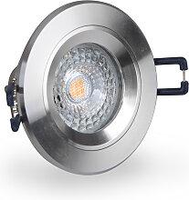 LED Einbaustrahler 230V dimmbar 5,5 6222 Warmweiß