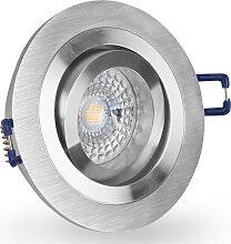 LED Einbaustrahler 230V dimmbar 5,5 6611 Warmweiß