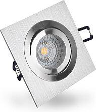 LED Einbaustrahler 230V dimmbar 5,5 6711 Warmweiß