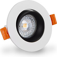 LED Einbaustrahler 230V dimmbar 5,5 7506 Warmweiß