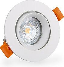 LED Einbaustrahler 230V dimmbar 5,5 7507 Warmweiß