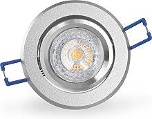 LED Einbaustrahler 230V dimmbar 5,5W 16302-4