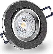 LED Einbaustrahler 230V dimmbar 5,5W 16302-9