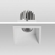 LED Einbaustrahler 3000K Warmweiß 9W 02-90S eckig