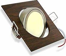 LED Einbaustrahler 5W neutralweiß 230V dimmbar,