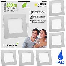 LED Einbaustrahler 6W 360lm warmweiß Ultra flach