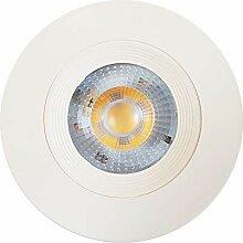 LED Einbaustrahler 6W RUND Einbaurahmen