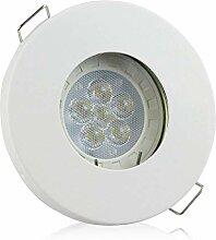 LED Einbaustrahler 7,5 Watt dimmbar - warmweiß