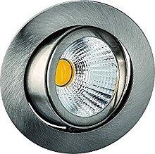 LED Einbaustrahler, 8W, 25°, 2700K, 350mA, CRI80,