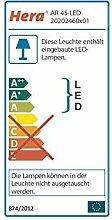 LED Einbaustrahler AR45 3W warmweiß