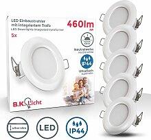 LED Einbaustrahler Badlampe IP44 Einbau-Leuchte 5W
