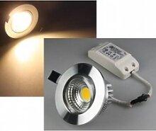 LED Einbaustrahler COB-7 warmweiß rund 7W 450lm