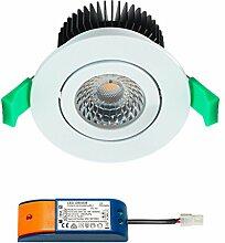 LED Einbaustrahler Cree (Weiß)  