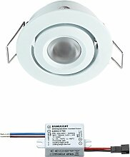 LED Einbaustrahler Creelux Weiß |