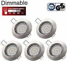 LED Einbaustrahler Dimmbar GU10 Kimjo, 6W