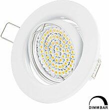 LED Einbaustrahler Dimmbar GU10 Warmweiss 250lm -