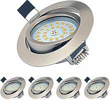 LED Einbaustrahler Dimmbar Schwenkbar Ultra Flach