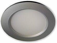 LED Einbaustrahler dimmbar (Silber) 10W 230V IP44