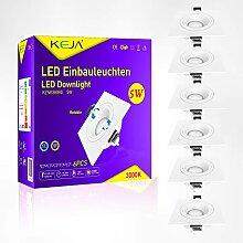 LED Einbaustrahler Dimmbar und Schwenkbar Eckig