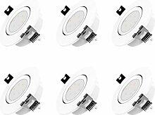 LED Einbaustrahler Dimmbar und Schwenkbar IP20