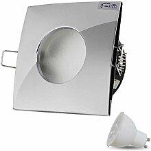 LED Einbaustrahler Dimmbar VENEDIG (Chrom)