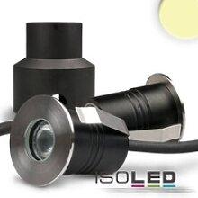 LED Einbaustrahler Edelstahl 2W 12V AC/DC