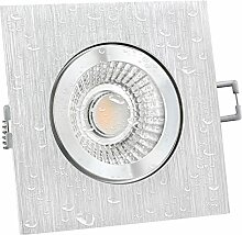 LED Einbaustrahler flach (40mm) dimmbar -