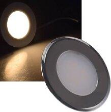 LED Einbaustrahler für Schalterdosen rund 2,2W