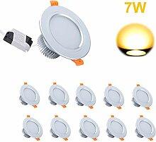 LED Einbaustrahler Gr4tec 10 x 7w Deckenstrahler