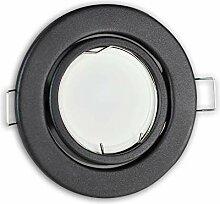 LED Einbaustrahler graphit – rund 5 Watt