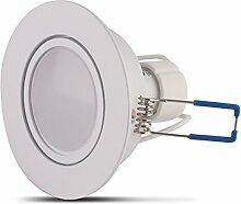LED Einbaustrahler GU10 5W Warmweiß 3000K