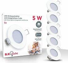 LED Einbaustrahler IP44 Einbau-Leuchte Bad-Lampe