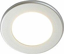 LED-Einbaustrahler Joki silber 3000K rund 11,5cm