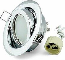 LED Einbaustrahler K-19 Einbauspot schwenkbar 85mm