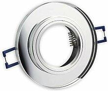 LED Einbaustrahler klar - rund 9 Watt neutralweiß
