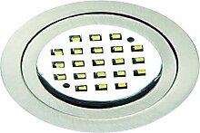 LED Einbaustrahler LARA, rund, 2,8W, 3000K, 200lm,