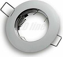 LED Einbaustrahler, LED Einbauspot Rund Aluminium