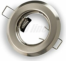 LED Einbaustrahler, LED Einbauspot Rund Metall