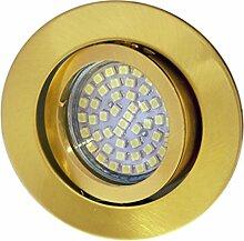 LED Einbaustrahler / Messing / Spot /