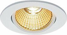 LED Einbaustrahler New Tria in Weiß 11W 800lm