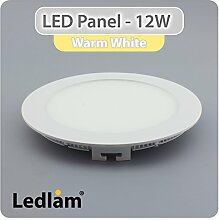 LED Einbaustrahler Panel Strahler Einbauspot weiß