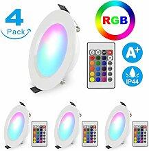 LED Einbaustrahler RGB Dimmbar Schwenkbar Ultra