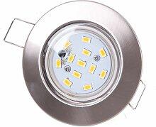LED Einbaustrahler rund Beleuchtung Spot Lampen