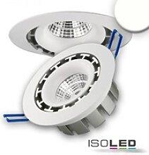 LED Einbaustrahler rund flach schwenkbar 15W