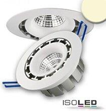 LED Einbaustrahler rund flach schwenkbar 15W 980lm