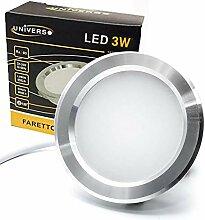 LED-Einbaustrahler, schmal, für Top Küche/Bad,