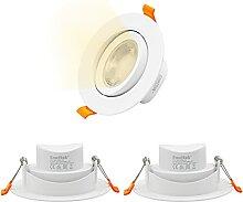 LED Einbaustrahler Schwenkbar 9W 800Lm Flach Spot